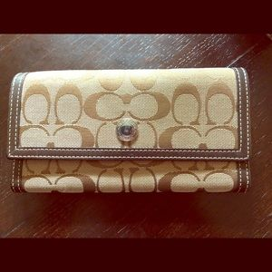 Coach Wallet with Classic 'C' Print